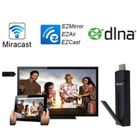 measy a2w ii EzCast TV Stick HDMI 1080P Miracast DLNA Airplay WiFi Display Receiver Dongle for Andriod windows Iphone Ipad IOS