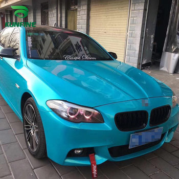 Car Styling Wrap Metal Lake blue Car Vinyl film Body Sticker Car sticker With Air Free Bubble For Motorcycle Car Tuning Parts