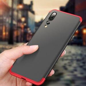 Huawei P20 Pro Чехол P20Pro цветной матовый 360 градусов Полная защита жесткий чехол для телефона для Huawei P 20 Lite P20Lite чехол