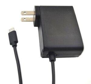 Image 5 - Para Nintend Interruptor Adaptador AC Carregador de Viagem Adaptador de Parede fonte de Alimentação de Carga Para Nintend NS Interruptor Acessórios EUA/UE plugue O3
