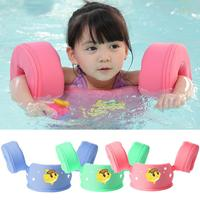 Inflation Free Infant Child Baby Swimming Buoyancy Arm Ring Float Solid Baby Ring Floating Children Waist Swimming Pool Toy