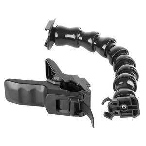 Image 5 - ALLOET Gooseneck Adjustment Jaws Flexible Clamp Clip Mount Holder For GoPro Hero 7 6 5 SJCAM SJ Xiaomi Yi 4K Camera Accessories