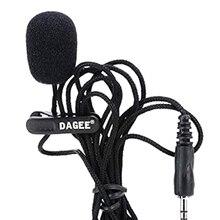 FFYY-DAGEE IMTC петличный 2 м 3,5 мм Микрофон Гарнитура для Micor высокое качество DAGEE DG-001 MIC мини портативный микрофон