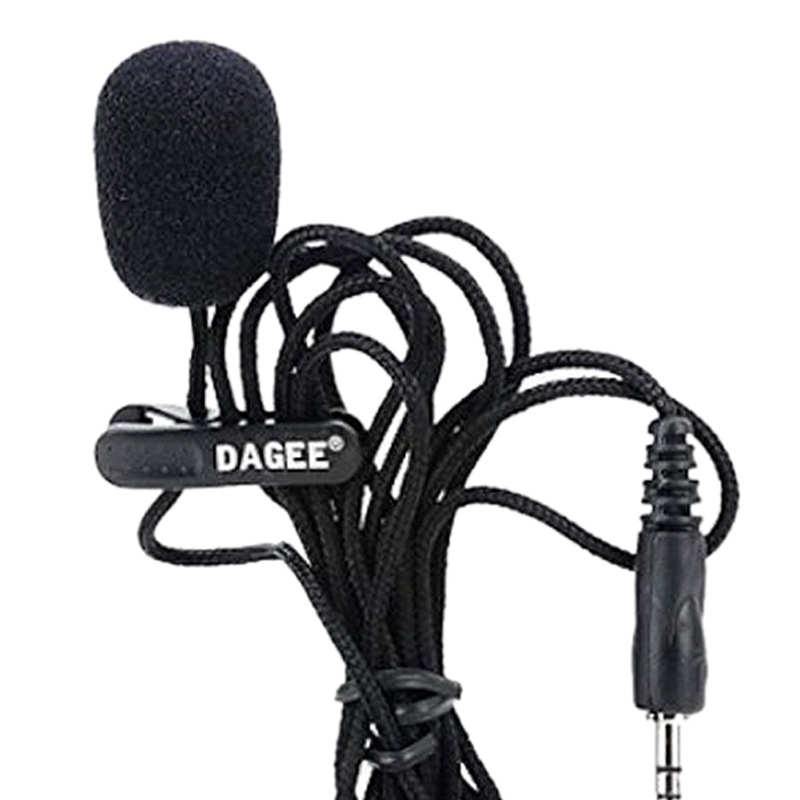 FFYY-DAGEE IMTC Lavalier 2M 3.5mm Microphone Headset For Micor High Quality DAGEE DG-001 MIC Mini Portable Microphone