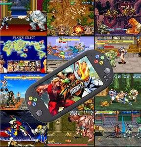 Image 5 - Retro Arcade video game console 8 GB geheugenkaart met 1500 gratis games ondersteuning TV Out Draagbare Gaming Console voor ps1 voor neogeo