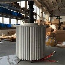 ff1f3418e58 AC 2000 vatios imán permanente alternador 2kw 48 V 96 v 120 V 220 V 230 V  240vac de baja RPM generador de turbina de viento
