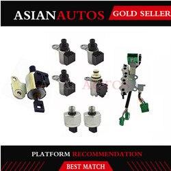 CVT JF011E/RE0F10A/F1CJA testowana zmiana biegów solenoid w/2 czujnik 2007 4 cyl dla jeep patriot dla Mitsubishi Lancer Nissan w Automatyczna skrzynia biegów i części od Samochody i motocykle na