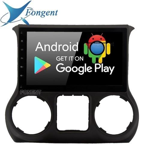 10 2 android 9 0 do gps do carro jogador de radio para jeep wrangler