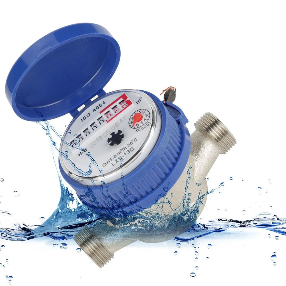 LXSG-13D B-class 15 Mm 1/2 Inch Flow Meter Single-flow Watermeter Dry Water Counter