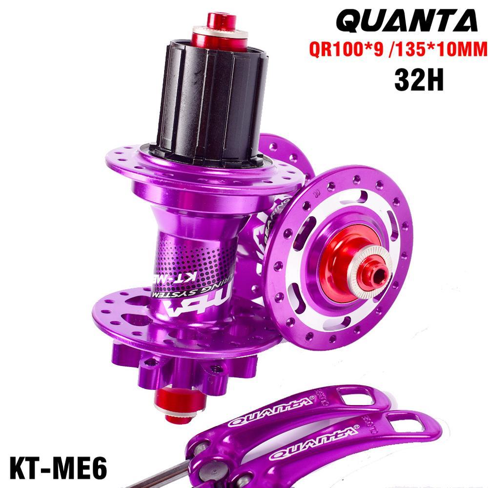 Bicycle hub mtb bike hub ultralight mountain bike hubs 32H 9x100mm/10 x 135mm QR Thru 15x100mm/12x142mm axle For 8 9 10 11 Speed