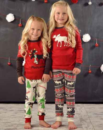 d97d92dcd9 ... Mom Dad Adult Kids Family Christmas Pajamas Couples Matching Clothing  2018 Mother Daughter Father Son Christmas ...