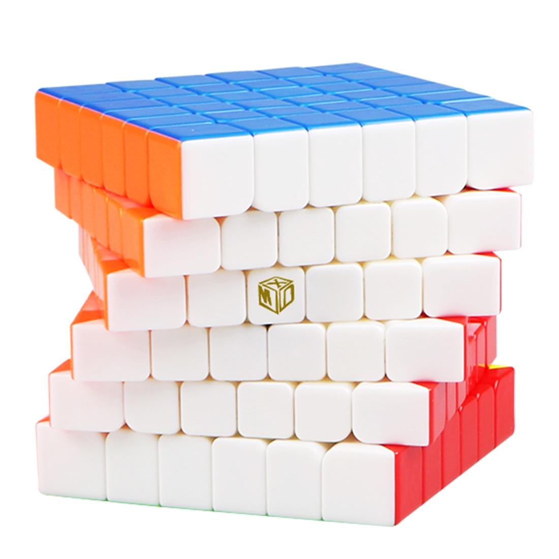 Qiyi Mofangge magnétique Type 6x6 ombre Cube magique Puzzle jouet pour la formation du cerveau-coloré