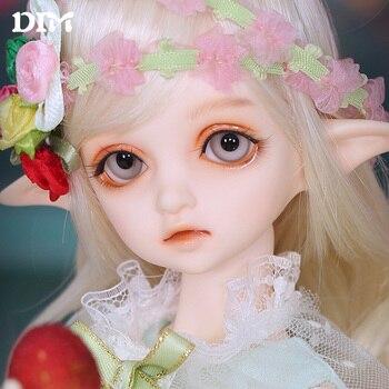 FreeShipping OUENEIFS Flowne1/4 BJD SD Doll Resin Full Set Package Kit DIM 1