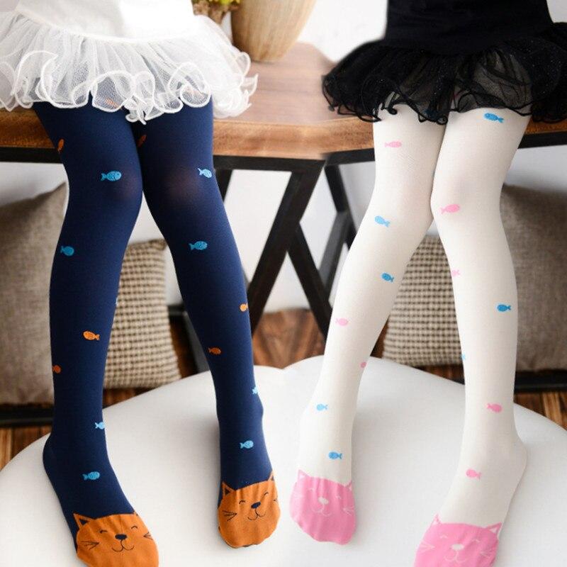3pc/lot Girl 3-7 Years  Children Elastic Velvet Baby Pantyhose Dance Tights For Girls Children's Kids Tights Girls Tights