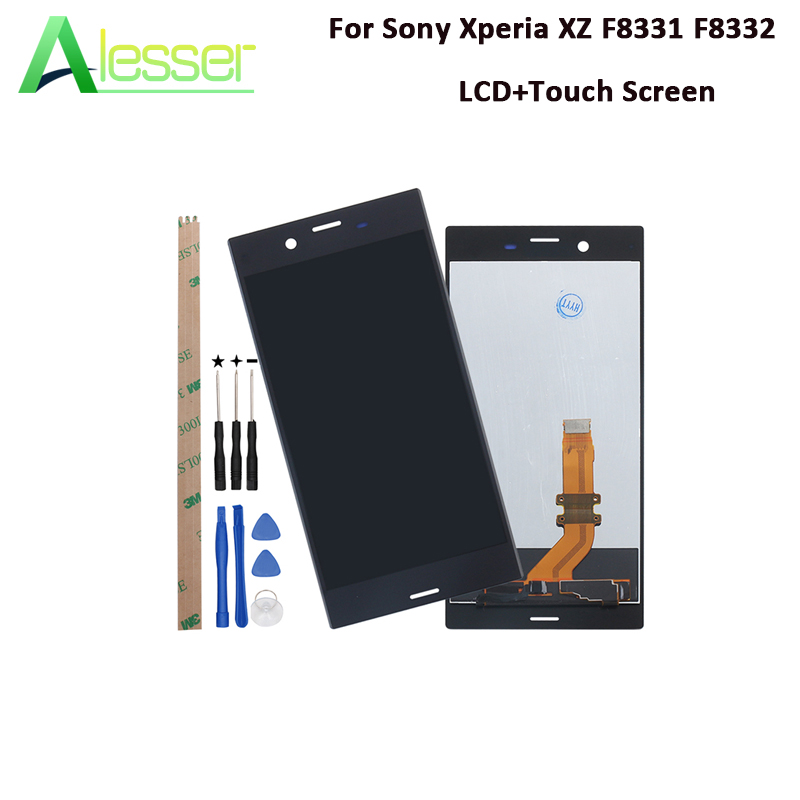 Alesser For Sony Xperia XZ F8331 F8332 LCD Display And Touch Screen 5.2 Assembly For Sony Xperia XZ Phone Accessories +ToolsAlesser For Sony Xperia XZ F8331 F8332 LCD Display And Touch Screen 5.2 Assembly For Sony Xperia XZ Phone Accessories +Tools