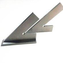 DNI875/2 100*70 мм 120*80 мм 45 градусов квадратная линейка с широким основанием сталь 45 градусов промышленный попробуйте машинист квадратная с основанием