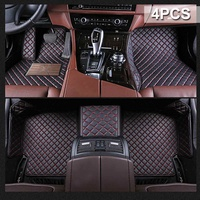 Car Carpets Floor Mat Non slip PU Leather Waterproof for Toyota Camry 2018 Car Accessories Auto Styling