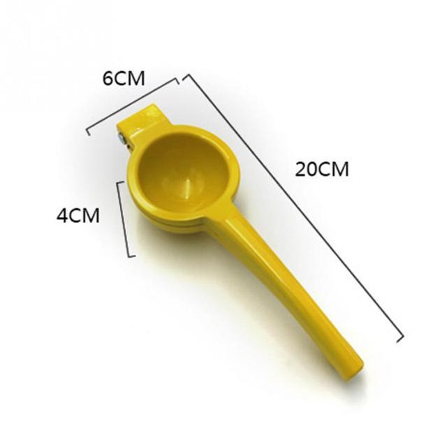 20*6*4CM outils de cuisine citron presse-agrumes en alliage d'aluminium Orange presse-agrumes jus de fruits alésoirs poignée rapide presse outil multifonctionnel 1
