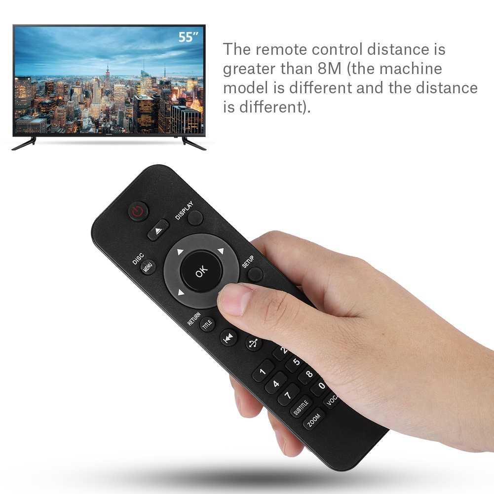 Универсальная замена DVD плеер Пульт дистанционного управления для Philips DVP5982C1/37B DVP3350K