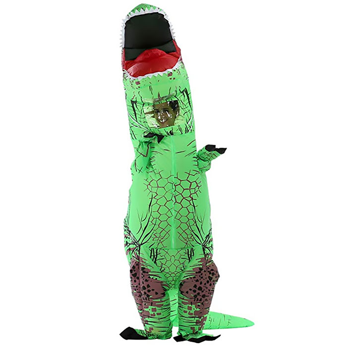 Inflatable Toy Halloween Dinosaur Costume Operated Fancy Outfit Inflatable Toy Dinosaur Inflatable Cosplay Performance CostumeInflatable Toy Halloween Dinosaur Costume Operated Fancy Outfit Inflatable Toy Dinosaur Inflatable Cosplay Performance Costume