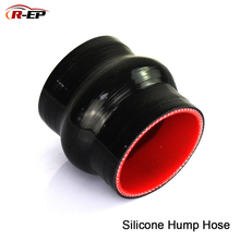 R-EP 0 degree Straight Silicone Hump Hose 38 45 51 57 63 70 76 83 89MM Rubber Joiner Tube for Intercooler Cold air intake Pipe