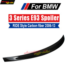 For BMW E93 Tail Rear Spoiler Wing Lip Ride style Carbon fiber 320i 323i 325i 328i 330i 335i tail 2006-13