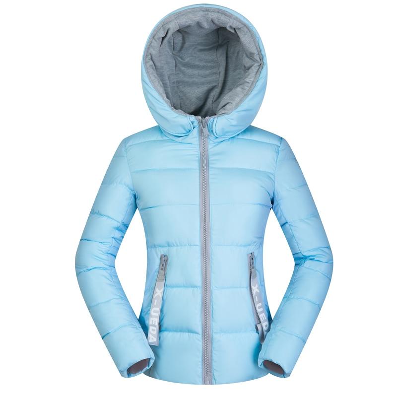 2018 new winter   jacket   women autumn hooded Coat Female Spring   Jacket   Women Padded cotton Parkas Casual Thin light   Basic     Jackets