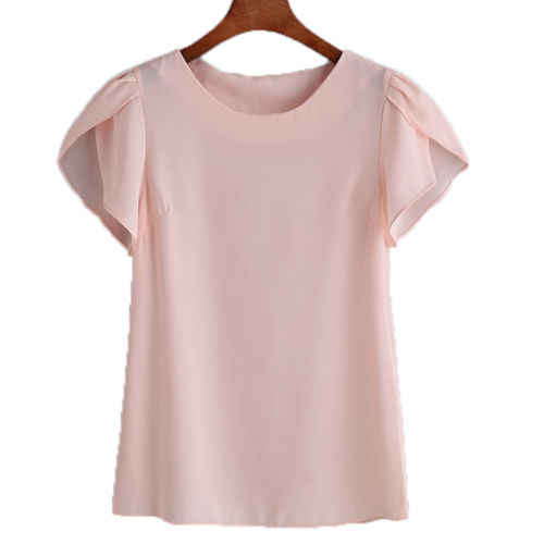 6e70d61caf5149 ... Women Ladies Summer Short Sleeve Floral Shirt Tops Loose T Shirts  Casual Tee O-Neck