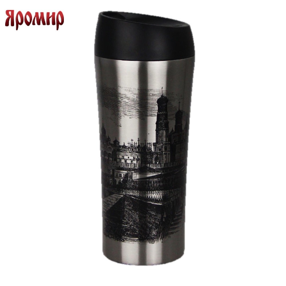 Vacuum Flasks & Thermoses Yaromir YAR-2406M thermomug thermos for tea Cup stainless steel water korean penguin vacuum cup water bottle mug coffee tea stainless steel thermos food jar thermal container insulated soup holder
