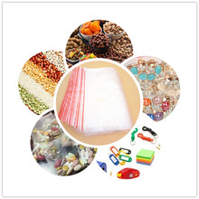 Clear Zipper Bags , Crystal Zip of All Sizes from factory