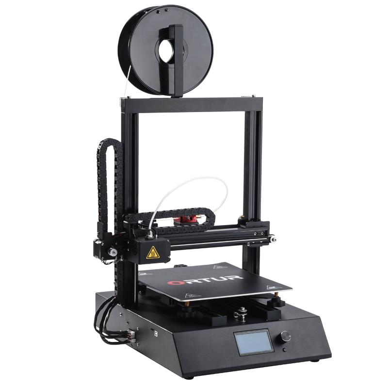 High Resolution Ortur 4 Cheapest Desktop FDM 3D Printer Kit Professional Auto Leveling Bed Industrial 3D Druker 1 75MM Filament in 3D Printers from Computer Office