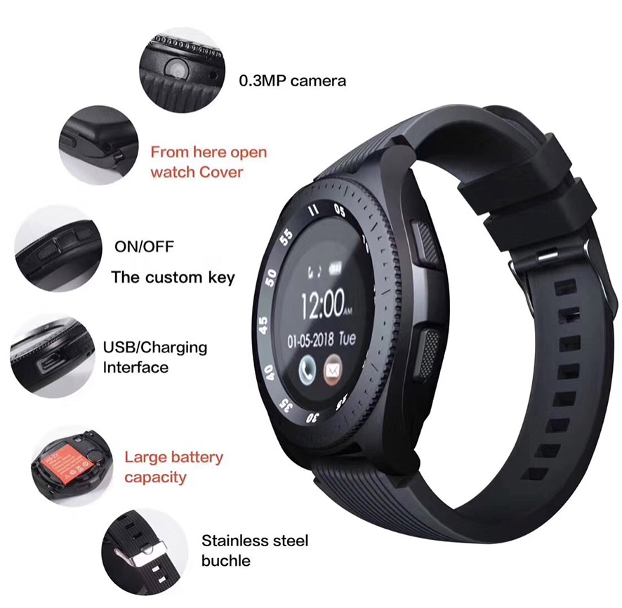 Z4 Bluetooth Smart Watch Men with Sim Card allcall Sport Smart Watches Whatsapp Health Wristband PK Q9 DZ09 B57 Smartwatch Women in Smart Watches from Consumer Electronics