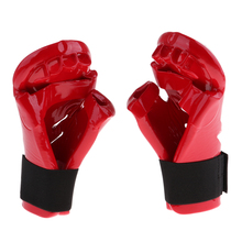 Kids Children Karate Boxing Gloves Taekwondo Sparring Mitts Muay Thai MMA Martial Arts Training Hand Guard Protector