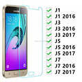 Защитное стекло для Samsung J1 J3 J5 J7 2016 2017 закаленное стекло на Galaxy J 1 3 5 7 1j 3j 5j 7j 6 Защитная пленка для экрана 9h