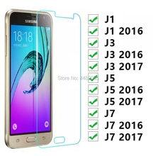 Vidro De proteção Para Samsung J1 J3 J5 J7 2016 2017 Glas Temperado No Galaxy J 1 3 5 7 1j 3j 5j 7j 6 9 Filme Protetor de Tela h