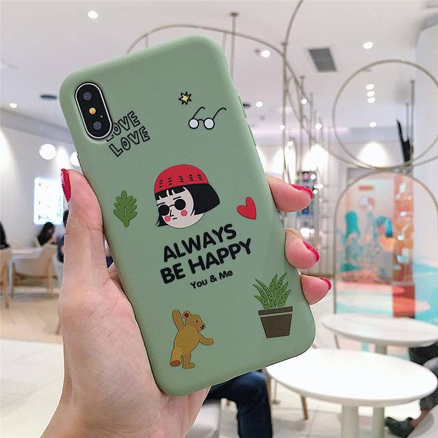 Ottwn Cartoon Couples Killer Phone Case For iphone