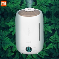 Xiaomi Deerma DEM F500 Air Humidifier Ultrasonic 5L Quiet Aroma Mist Maker LED Touch Screen Timing Function Home Water Diffuser