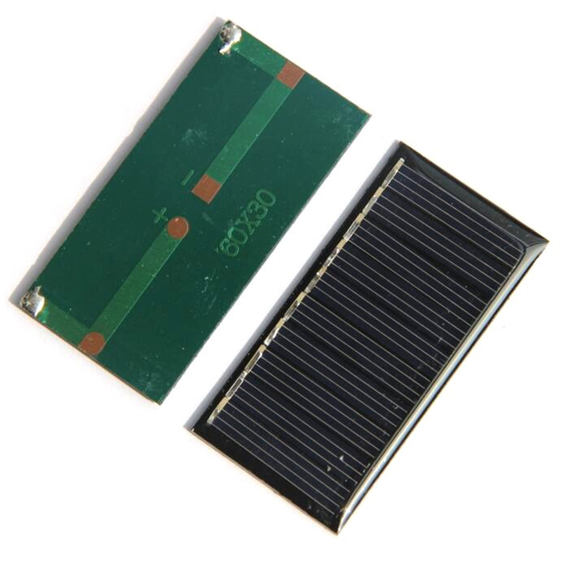 Mini 0.25w 5v <font><b>Solar</b></font> <font><b>Panel</b></font> Power <font><b>Panel</b></font> System Diy Battery Cell Charger Module Portable Panneau Solaire Energy Board 60x30mm,5pc image