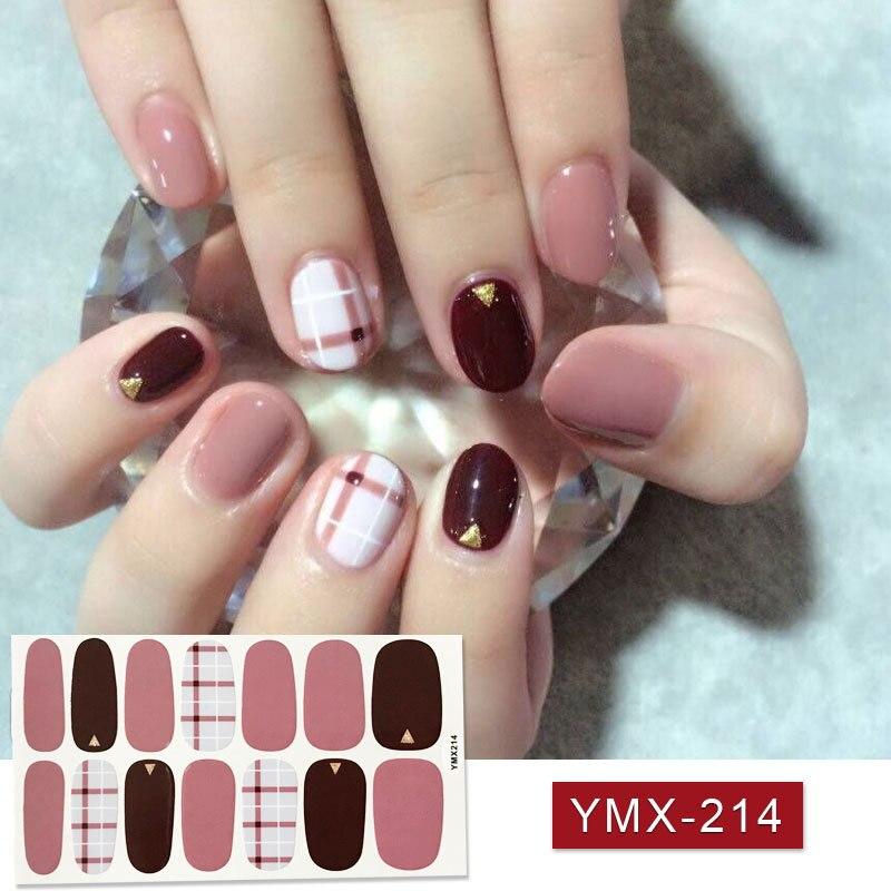 hot 1 sheet adhesive nail polish