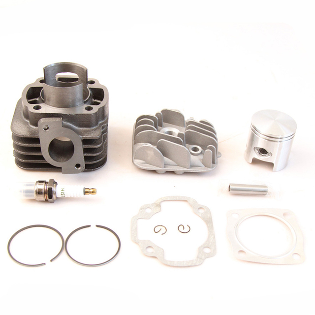 US $68 89 |48mm 100cc cylinder big bore kit For YAMAHA BWS / ZUMA 50  (Horizontal engine)1E40QMB JOG50 50CC-in Radiators & Parts from Automobiles  &