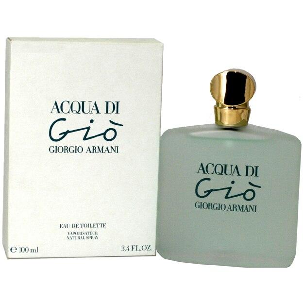 5568cc9f8a Acqua Di Gio Perfume By Giorgio Armani For Women Eau De Toilette Spray 3.4  Oz / 100 Ml