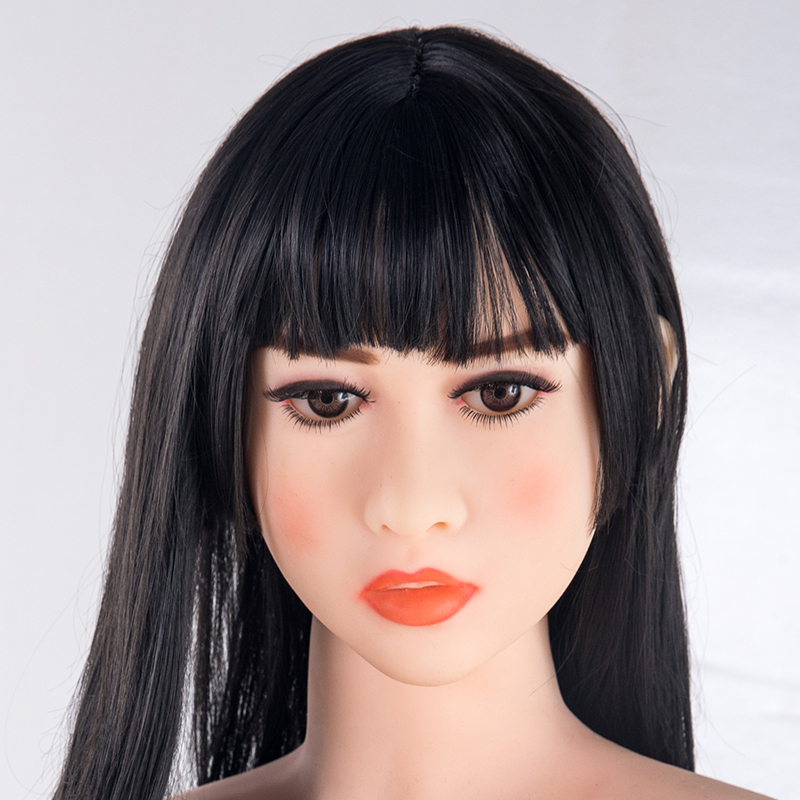 tpe Oral Sex Doll Head fits 140cm to 176cm Full Size Lifelike Real Doll with Customize Wig and Eyes M16 Screw Thread in Sex Dolls from Beauty Health