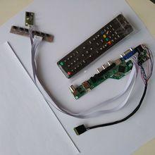 Tv hdmi vga av usb áudio lcd led controlador placa cartão kit diy para auo b156hw01 lp173wf1 1920x1080 monitor de tela do painel
