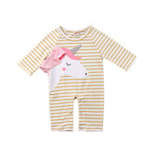 Newborn Toddler Baby Boy Girls Coverall Bodysuit Jumpsuit Clothes Outfits Baby Boy Girl Bodysuits O-neck Long Sleeve Cotton(China)