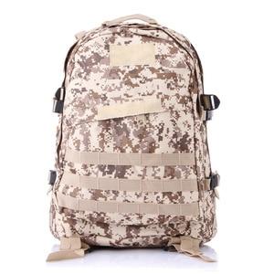 Image 2 - 40L açık 3D spor askeri taktik tırmanma dağcılık sırt çantası kamp yürüyüş Trekking sırt çantası seyahat açık çantası