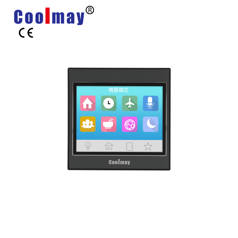 Coolmay MT9037H economic mini color touch screen HMI monitor for industrial automation