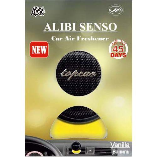 Flavoring in deflector Alibi Senso Vanilla 2pcs set car styling car perfumes refills 100 original 5ml solid air freshener refill flavoring in the car parfums