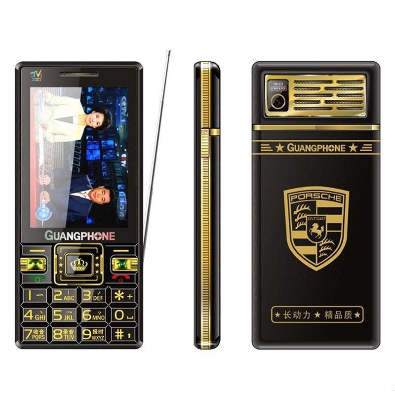 MAFAM N88S pantalla táctil teclado grande teléfono móvil analógico TV tiempo de espera botón grande voz Cámara barata mayor celular teléfono