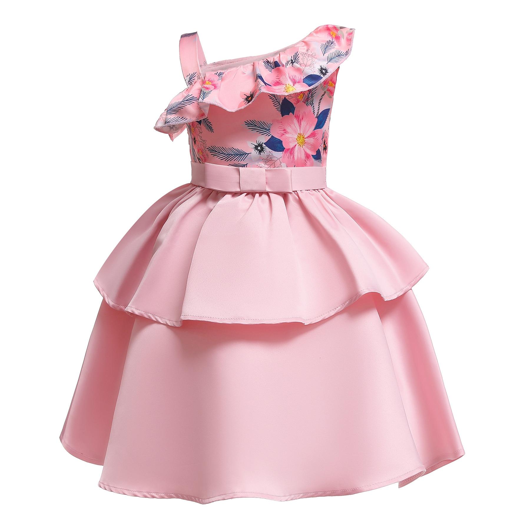 c4c8d1883b1 Baby Tutu Princess Dresses for Girls Formal Flower Birthday Party Girl  Dress for Girls Prom Baby