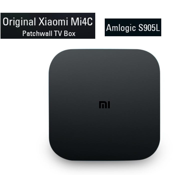 Xiaomi Mi4C Patchwall TV Box Amlogic S905L / 1 8GB / 2.4G Wi-Fi / BT4.1+ EDR / Supports 4K HDR / H.265 / DTS-HD Set-top Box купить в Москве 2019
